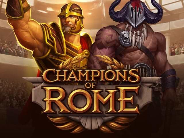 Gladiators in Action in Champions of Rome Slot