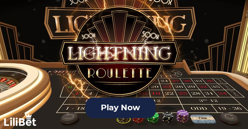 lightning roulette evolution gaming lilibet casino
