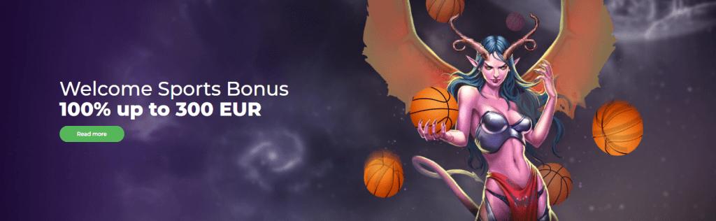 Welcome sport bonus