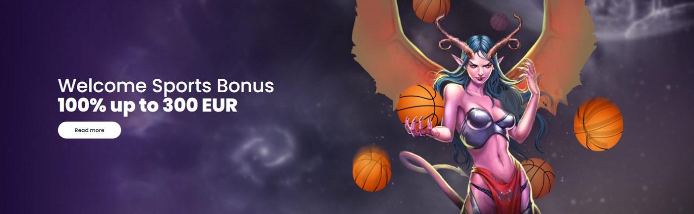welcome sports bonus lilibet casino