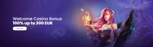welcome casino bonus at lilibet casino