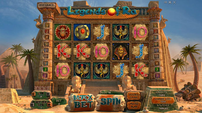 Legends_Of_Ra slot features