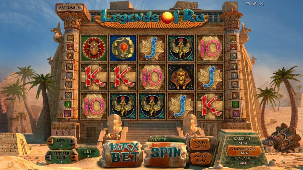 Legends_Of_Ra slot reels