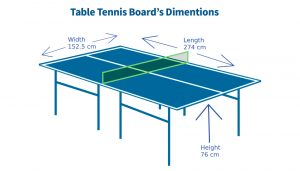 Table-tennis-Board-dimentions