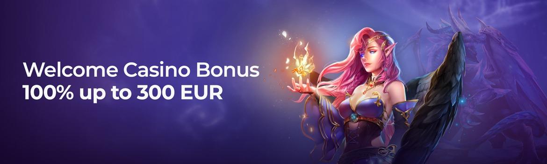 Welcome casino bonus lilibet casino