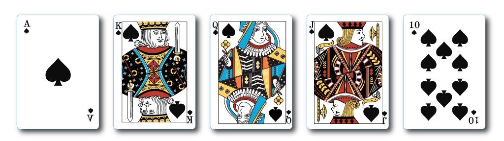 royal-flush casino hold'em