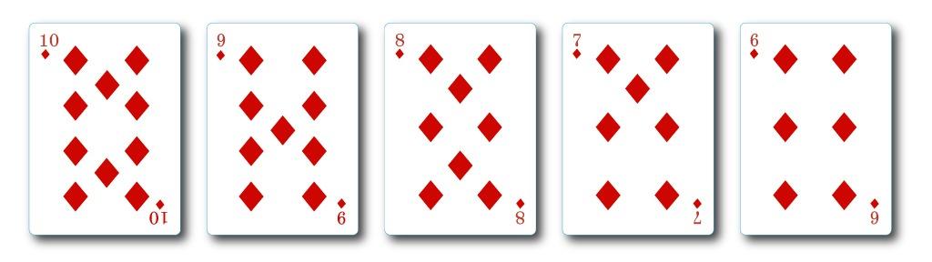 straight-flush casino hold'em