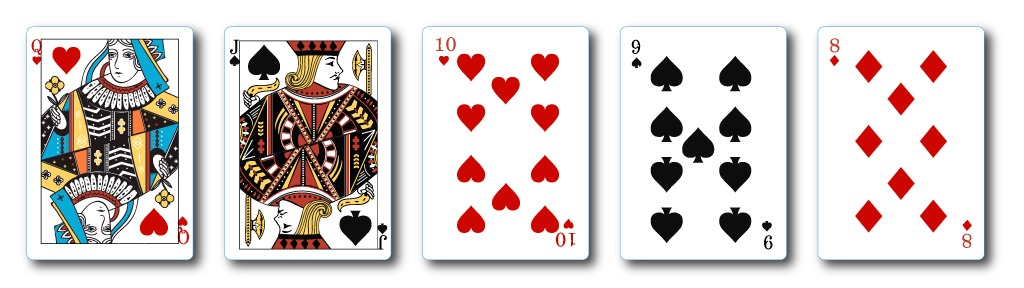 straight hand casino hold'em