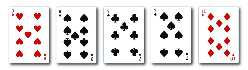 two-pair hand casino hold'em