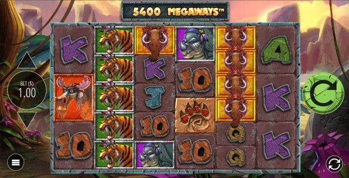 Primal-Megaways slot game at lilibet casino