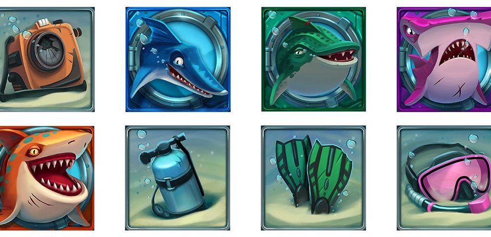 Razor-Shark-symbols