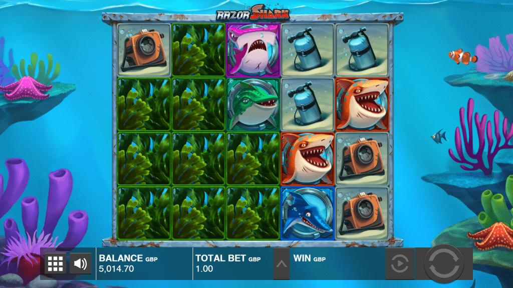 Mystery Stacks razor shark slot