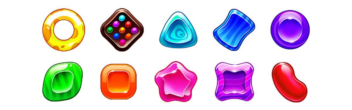 candy-dreams slot game-symbols
