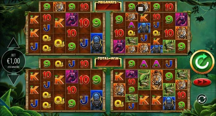 gorilla-gold-megaways slot game
