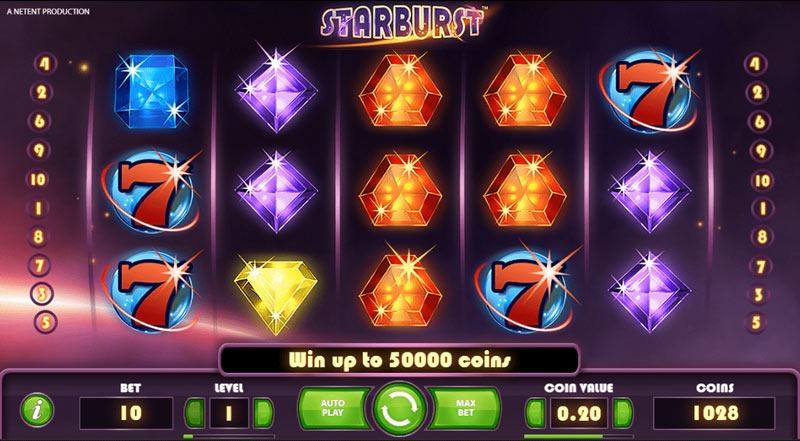 starburst-slot game at lilibet online casino