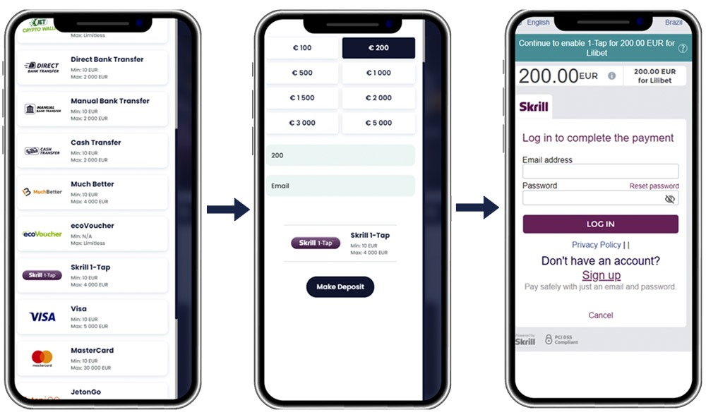 how-to-deposit-with-skrill-1-tap-at-lilibet-casino