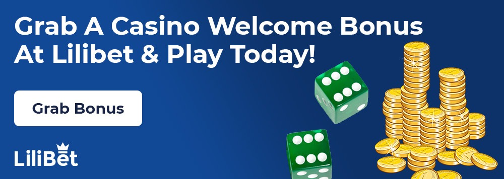 Lilibet Casino welcome Bonus