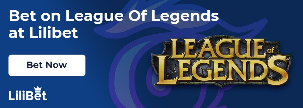 betting on League-of-legends at lilibet casino